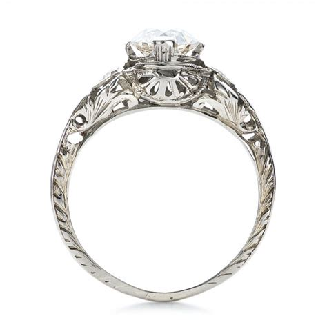 deco wedding ring estate diamond art deco engagement ring 100905 seattle