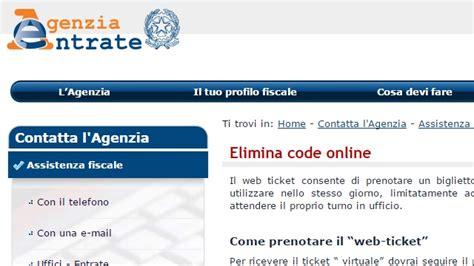 Ufficio Fastweb by Agenzia Delle Entrate Arriva Il Servizio Elimina Code