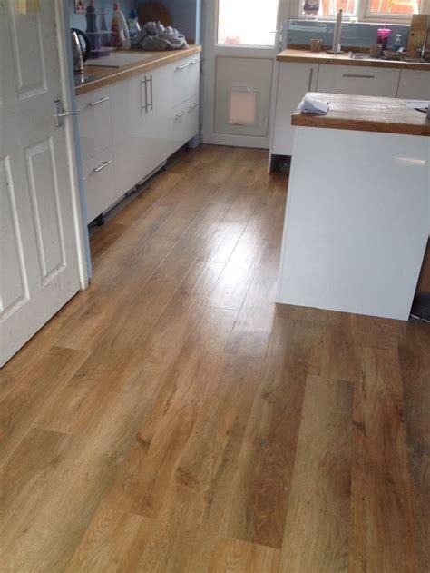 karndean art select spring oak vinyl flooring kitchen