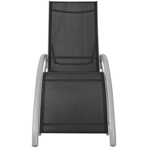 position de la chaise longue chaise longue en aluminium 5