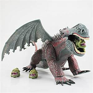 Red Death Dragon Toy | ... Dragon Movie RED DEATH With 3 ...