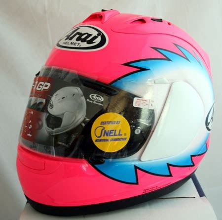 limited edition steve hislop replica arai rx7 gp
