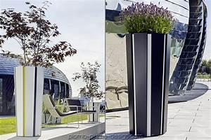 Grand Pot De Fleur Interieur : grand bac de jardin design en aluminium octa 110 de flora ~ Premium-room.com Idées de Décoration