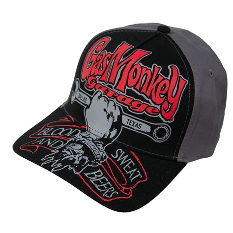 gas monkey garage hats gas monkey garage automobile snapback hat