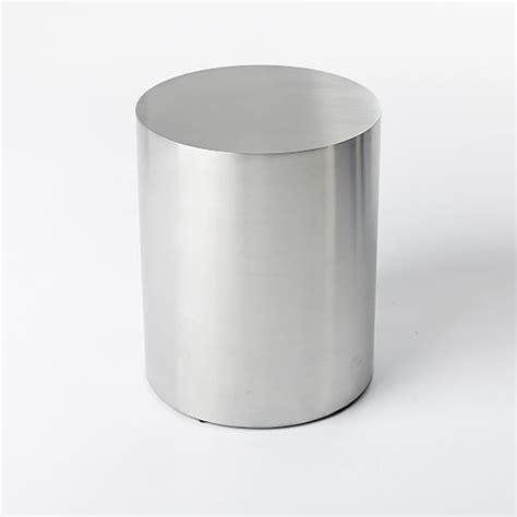 metal drum side table metal drum side table west elm