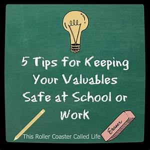 5 Tips for Keeping Your Valuables Safe at School and Work ...