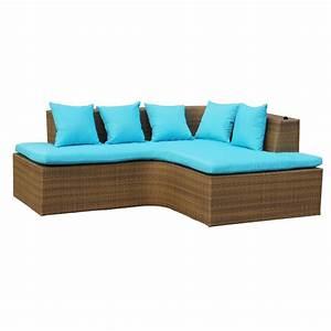Polyrattan Gartenmoebel Set : lounge set gartenm bel set aus polyrattan wetterfest und uv best ndig hawaii ebay ~ Markanthonyermac.com Haus und Dekorationen