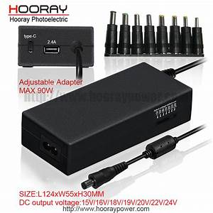 China 90w Notebook Manual Switching Power Adapter For Hp