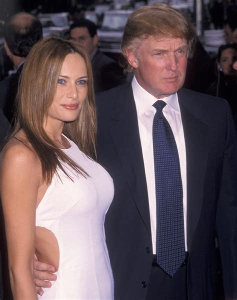 trump donald marriages melania wedding three wives weddings 1999 instyle galella wireimage ron
