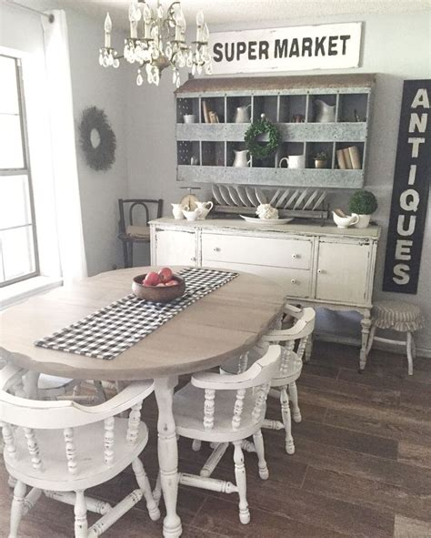 farmhouse table ideas  pinterest