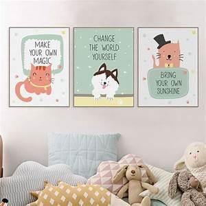 17 meilleures citations de chambre de bebe sur pinterest With affiche chambre bébé avec peinture de fleurs sur toile