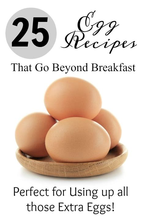 Anyone can enjoy these recipes, even those without allergies to eggs. 25 Egg Recipes that Go Beyond Breakfast | Recipes, Recipe ...