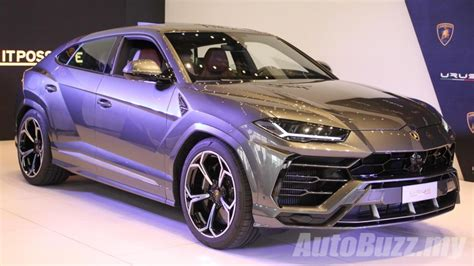 video lamborghini urus super suv