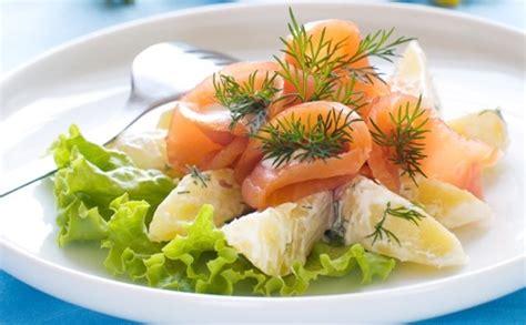 salade de pommes de terre au saumon fum 233 norv 232 ge wecook
