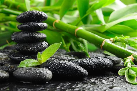 Image result for hot stone massage black woman