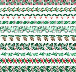 Christmas, Border, Patterns, 423812, Vector, Art, At, Vecteezy