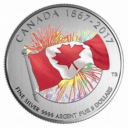 Canadian Coin Mint Silver Dark Glow Canada