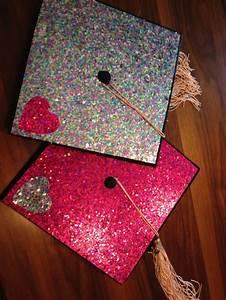 Glitter graduation caps | Knowledge | Pinterest