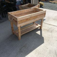 planter woodworking plans  ideas pinterest