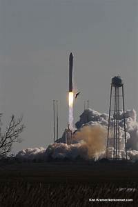 Antares Private Rocket Thunders off Virginia Coast bound ...