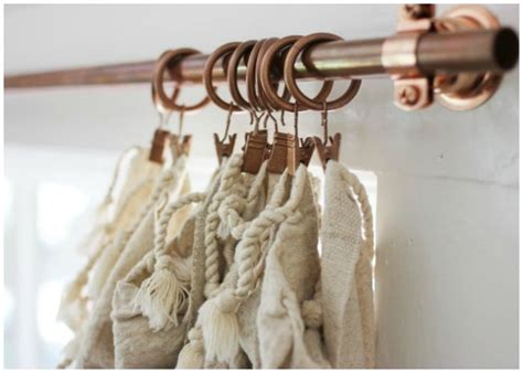 10 Diy Curtain Rods And Creative Window Treatments Parts Of Curtain Blinds Lining Fabric John Lewis Ribbon Tiebacks For Sheer Curtains Ideas Baby Boy Nursery Where To Get In Toronto Martha Stewart Everyday Panel Linen Panels Pottery Barn Red White And Black Kitchen