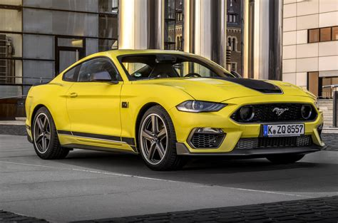 So, you keep dreaming of the future. Ford Mustang Mach 1: 454bhp special edition confirmed for ...