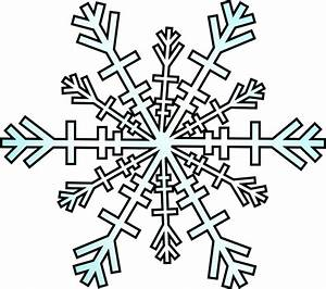 Snowflake Clip Art Black And White | Clipart Panda - Free ...