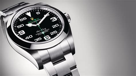rolex air king youtube