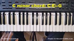 C M Piano : how to play the c minor chord on piano and keyboard cm cmin youtube ~ Yasmunasinghe.com Haus und Dekorationen