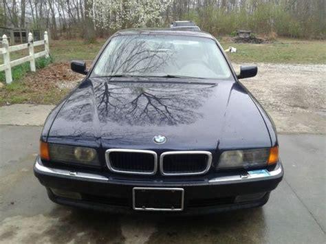 Purchase Used 1998 Bmw 740i Base Sedan 4door 44l In