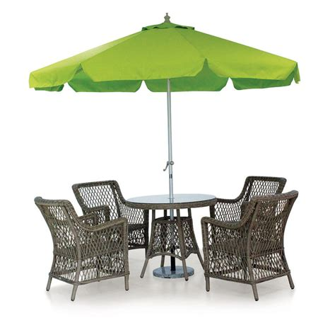 western style outdoor cafe set rattan garden patio dining
