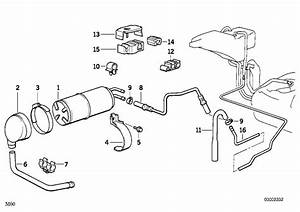 Bmw 740i Activated Charcoal Filter  Catalytic  Converter  Fuel - 16131180463