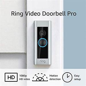 Ring Video Doorbell Pro  With Hd Video  Motion Activated