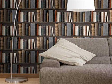 peindre un canapé en tissu papier peint trompe l 39 oeil bibliothèque leroy merlin