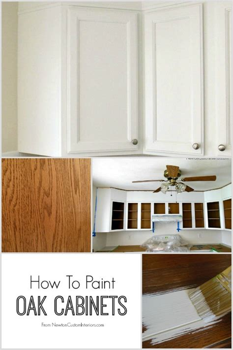 can you paint oak cabinets how to paint oak cabinets