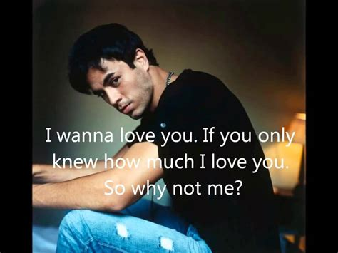 Enrique Iglesias Best Song With Lyrics