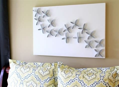 creative diy toilet paper roll wall art