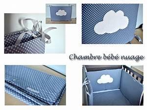 Lit Bebe Nuage : chambre b b th me nuage doudous cr ations funky flo ~ Teatrodelosmanantiales.com Idées de Décoration