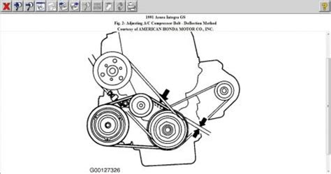 Serpentine Belt Diagram 95 Acura Integra by 1991 Acura Integra Belt Routing Diagram I Just Bought My
