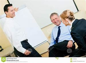 Business Presentation In Meeting Stock graphy Image