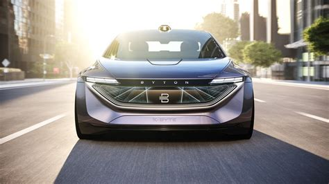 Byton's New Electric Sedan Concept Car Is Even Flashier