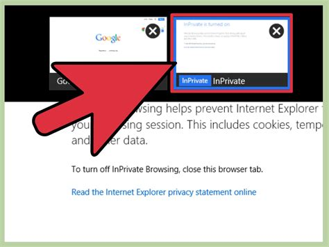 How To Browse Incognito In Internet Explorer