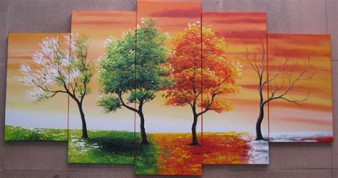 handpainted  piece modern abstract oil paintings