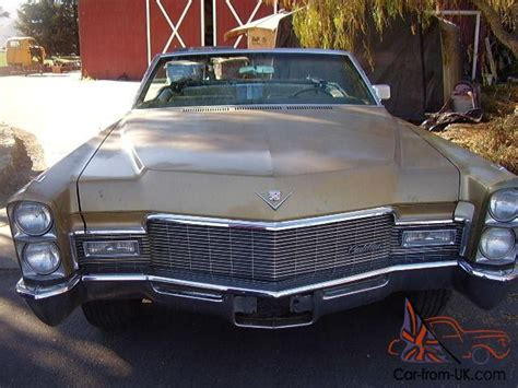 1968 Cadillac Deville 472/375hp V8 Convertible