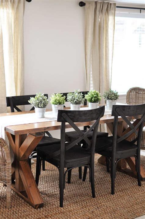 brace farmhouse table farmhouse dining room table