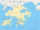 Hong Kong Map - Guide of the World