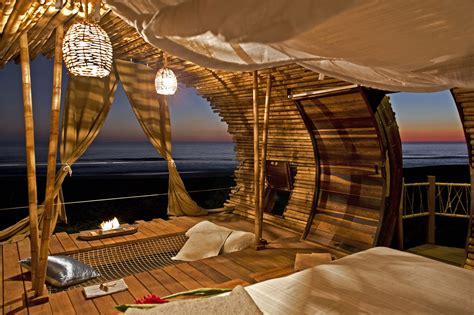 fantasy bamboo cabin   beach adorable home