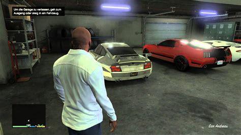 Gta 5 My Garage With Franklin (hd) Xbox 360