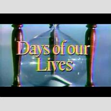 Days Of Our Lives Intro W Nbc Peacock Youtube