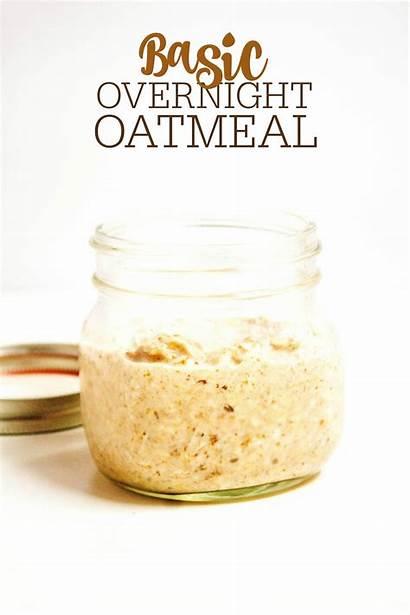 Overnight Oatmeal Basic Recipe Recipes Easy Combinations
